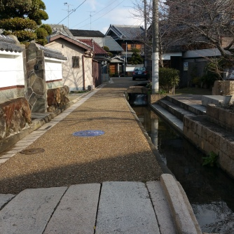 One thing I like about Japan, though they're sometimes a pain to navigate through if you're in a car, are the small roads.