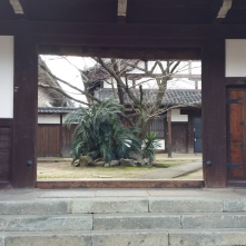 An entrance to the temple. Here you can see a bit of what's inside.