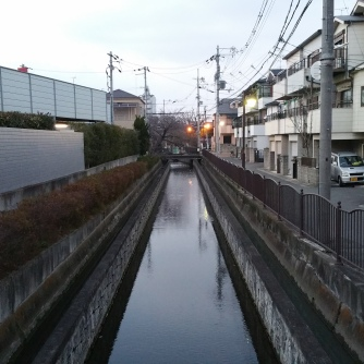 Just a canal doing its canal thing.